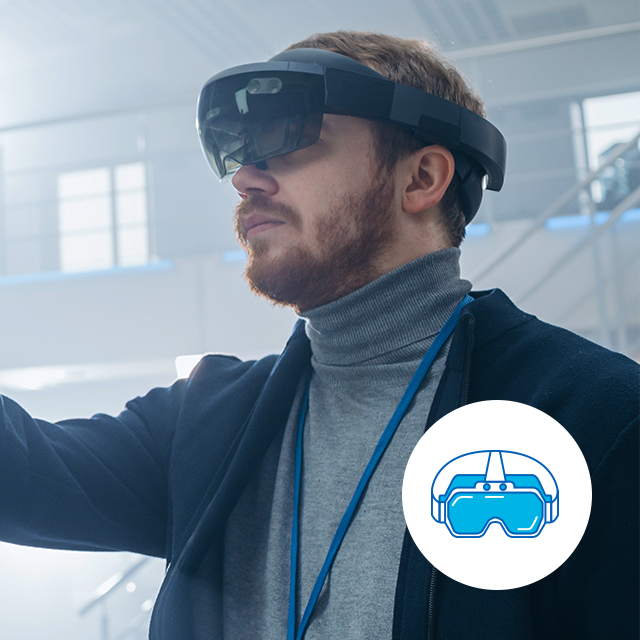 포스코ICT의 Smart Safety는 다양한 재해사례를 작업자가 가상 체험할 수 있도록 VR 체험 교육을 제공합니다 / Smart Safety, One of the Smart OnSite Safety solutions provides VR training for workers to experience various hazard cases virtually